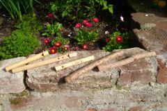 Holunderholz-Flöten