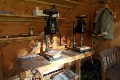 Werkzeuge in der Holzwerkstatt